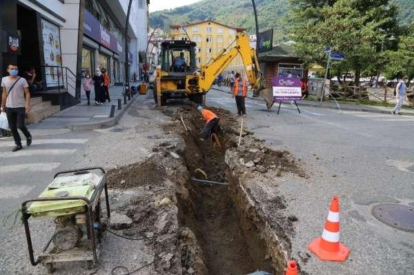 Büyükşehir su baskınlarına kesin çözüm için çalışmalara başladı