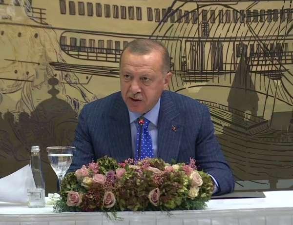 Cumhurbaşkanı Recep Tayyip Erdoğan, 'Ülkemizi ekonomik yaptırımlar konusunda teh