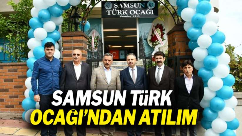 Samsun Türk Ocağı'ndan atılım