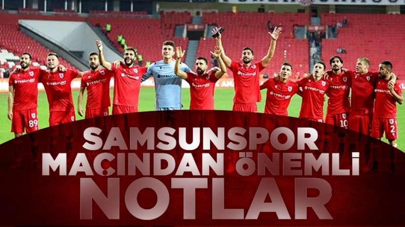 Samsunspor Kırklarelispor maçının ardından geriye kalanlar