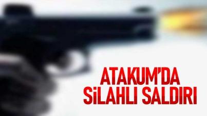 Atakum'da silahlı saldırı