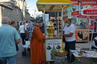 Sinop'ta orijinal salebe yoğun ilgi