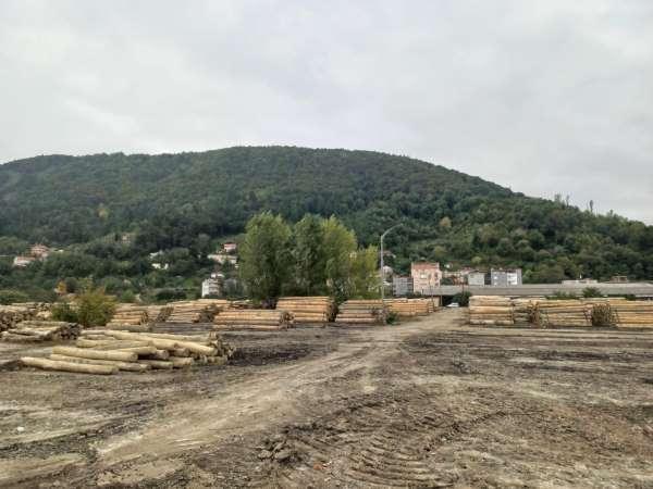 Ayancık eski kereste fabrikası, yıllar sonra orman deposuna dönüştü
