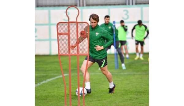 Bursasporda Boluspor maçı hazırlıkları devam ediyor