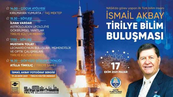 İsmail Akbay adına Tirilyede bilim buluşması