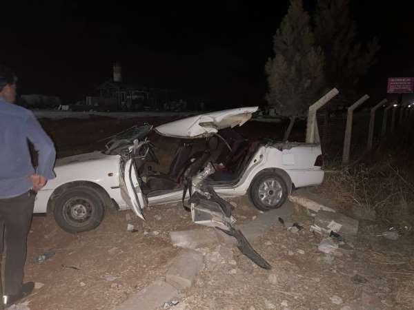 Şanlıurfada feci kaza: 2 ölü, 7 yaralı
