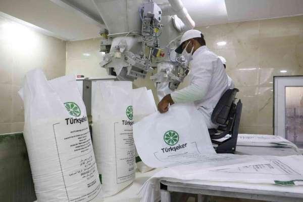 Türkşeker yeni sezonda 100 bin ton şeker üretti