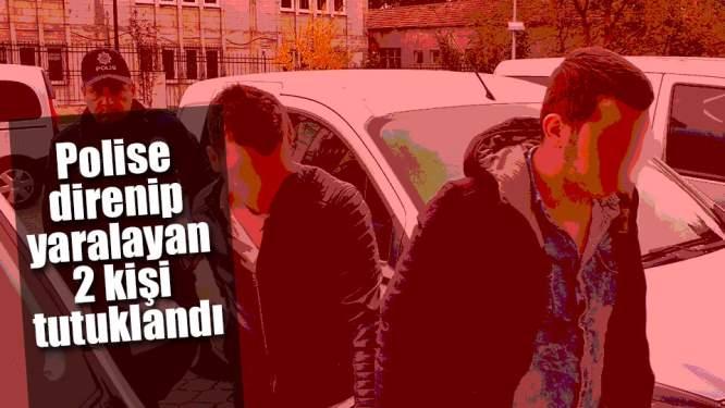 Samsun'da 2 Kişi Polise Mukavemette Bulundu