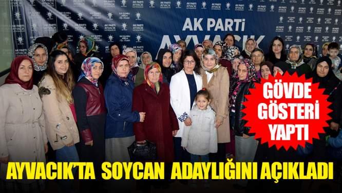 AK Partide Ayşe Soycan Adaylığını Açıkladı!