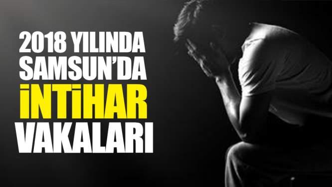 2018 Yılında Samsun'da İntihar Vakaları