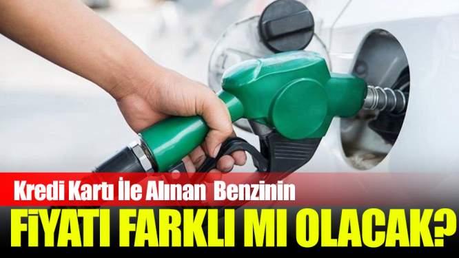 Benzini Kredi Kartı İle Alıyorsanız Dikkat!