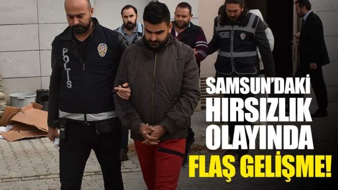 Samsun'daki Evden Hırsızlık Olayında Flaş Gelişme!