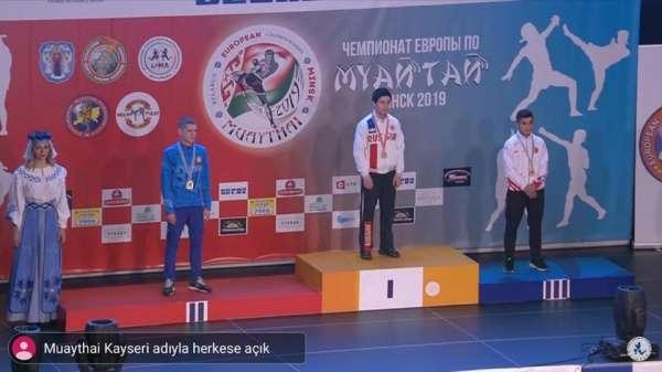 Samet Kartal, Muaythai'de Avrupa üçüncüsü