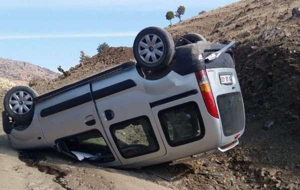 Siirt'te trafik kazası:3 yaralı
