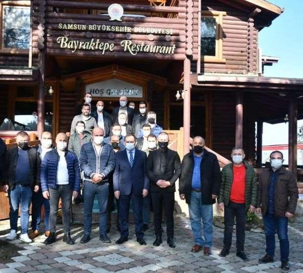 Başkan Demir'den ikinci el oto esnafına: 'Belediye her konuda yanınızda'