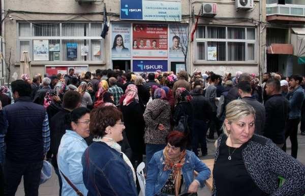 Giresun'da 24 bin 597 iş başvurusu yapıldı