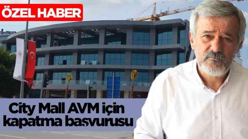 Samsun City Mall AVM için kapatma başvurusu