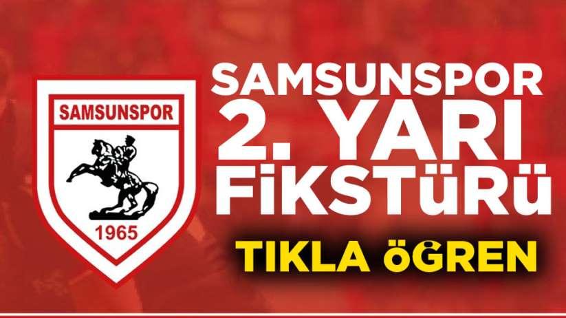 Samsunspor 2. yarı kimlerle, ne zaman, nerede maç yapacak?