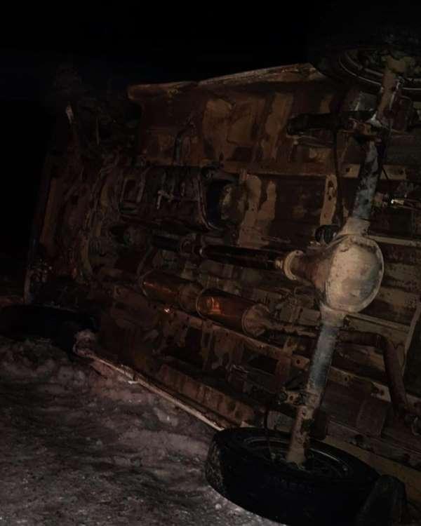 Çaldıran'da trafik kazası: 1 yaralı