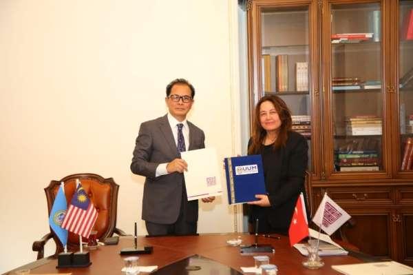 MAÜ'den Utara Malaysia Üniversitesi ile akademik işbirliği