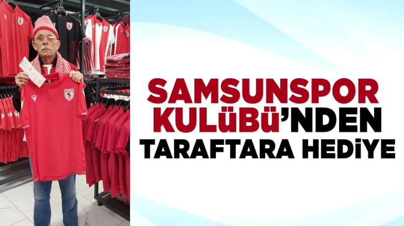 Samsunspor Kulübü'nden taraftara hediye!