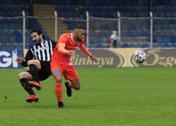 TFF 1. Lig: Adanaspor: 0 - Altay: 2 (İlk yarı)