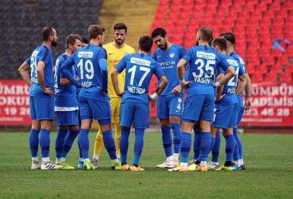 TFF 1. Lig: Tuzlaspor: 1 - Ankara Keçiörengücü: 0