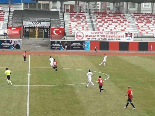 TFF 2. Lig: Vanspor FK: 3 - Turgutluspor: 0