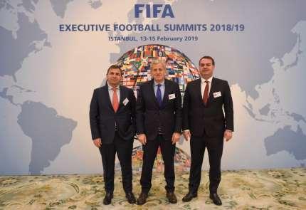 FIFA Futbol Yönetim Zirvesi İstanbul'da başladı