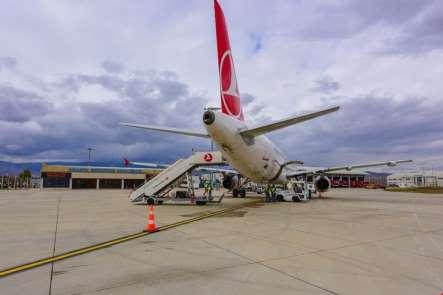 Merzifon Havalimanından Ocak ayında 19 binden fazla yolcu uçtu