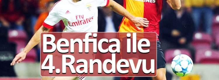 Galatasaray ile Benfica 4. randevuda