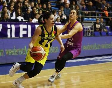 FIBA Kadınlar Avrupa Ligi: Fenerbahçe: 61 - TTT Riga: 62