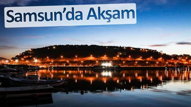 Samsun'da akşam