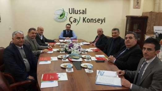 Ulusal Çay Konseyi Yönetim Kurulu Toplantısı