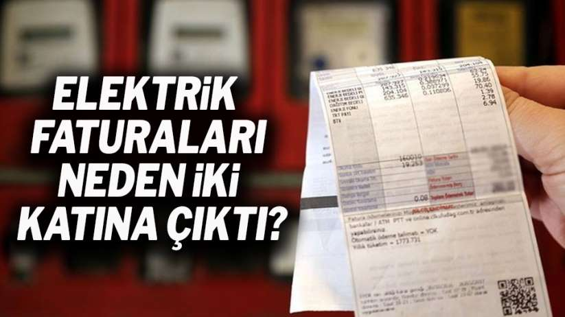Elektrik faturaları neden yüksek geliyor?