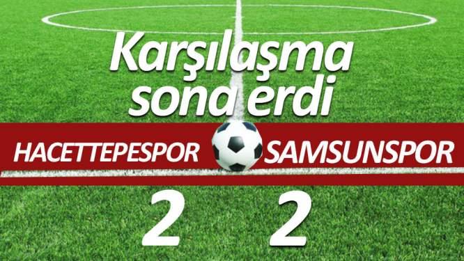 Samsunspor son dakikada üzdü