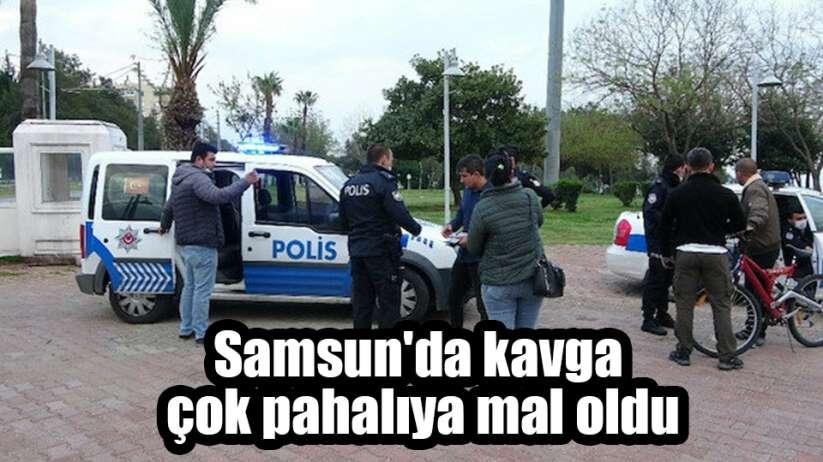 Samsun'da kavga çok pahalıya mal oldu
