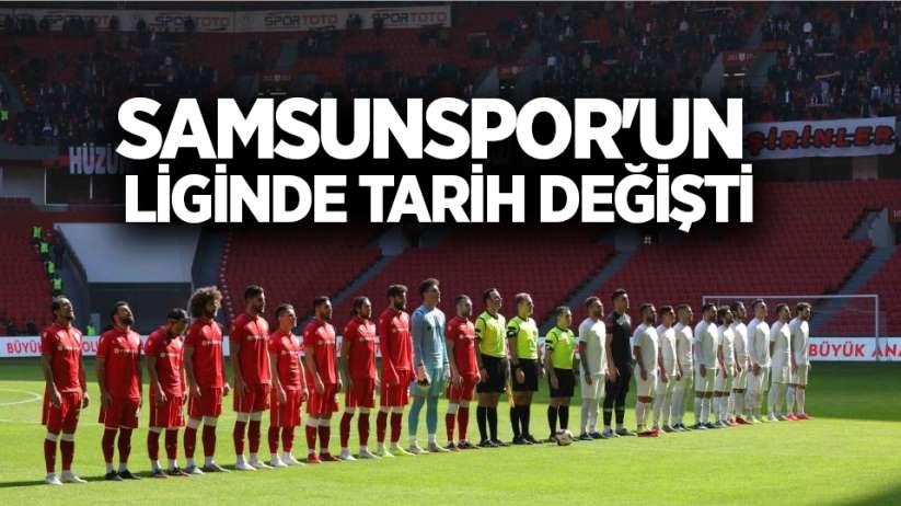 Samsunspor'un Liginde Tarih Değişti