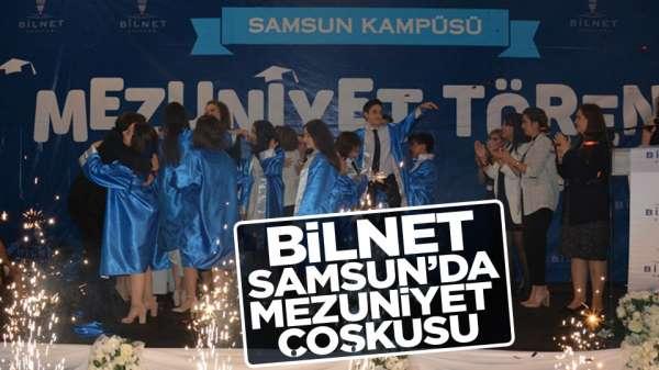BİLNET Samsun'da Mezuniyet Coşkusu