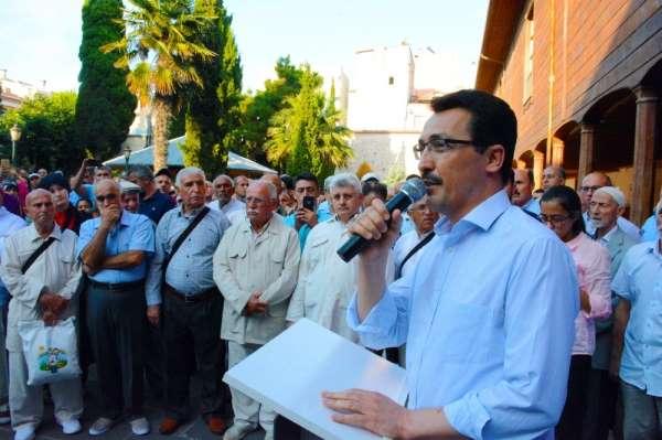 Hacı adayları Sinop'tan uğurlandı