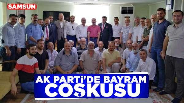 AK Parti'de bayram coşkusu