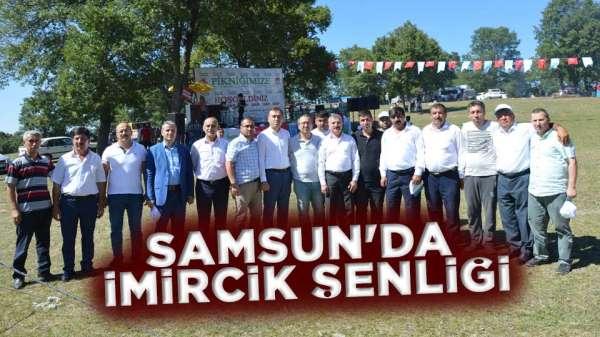 Samsun'da imircik şenliği