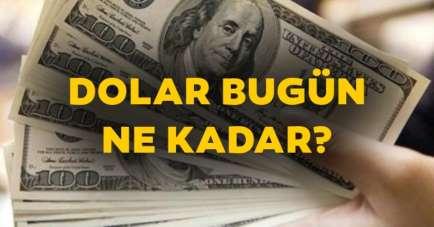 Dolar ne kadar oldu? (13.08.2020)