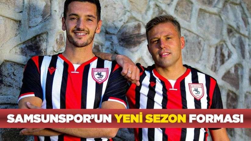 Samsunsporun yeni sezon forması