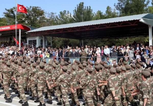 8 bin 110 bedelli asker yemin etti