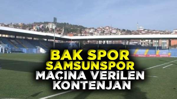 Bak Spor Samsunspor maçına verilen kontenjan şaşırttı