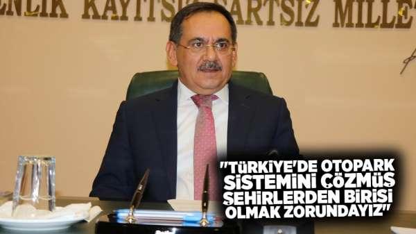 Başkan Demir'den otopark açıklaması