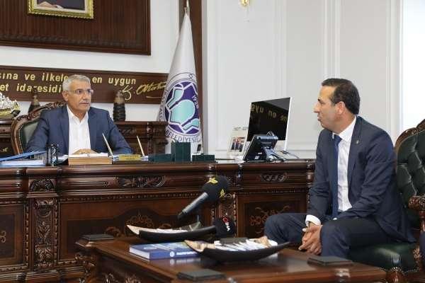 Başkan Güder'den 'Futbol köyü' projesine destek