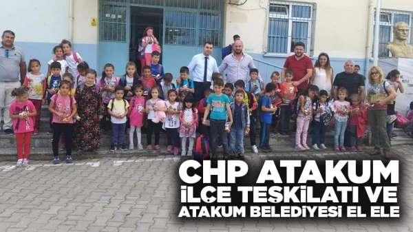 CHP Atakum İlçe Teşkilatı ve Atakum Belediyesi El Ele