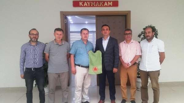 Köşk Belediye Doğanspor'dan Kaymakam Açıkgöz'e ziyaret